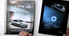 A Lexus 2013 ES changes colors, turns on its headlights and exposes its interior as throbbing music plays in this highly interactive print ad in the Oct. 15 Sports Illustrated. ...