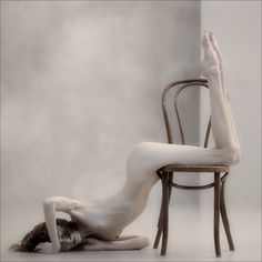 Soft Geometry Xiii by Pavel Kiselev, Photography, Digital Something Beautiful, How Beautiful, Very Scary, Girl Body, Cool Chairs, Cool Artwork, Chair Design, Amazing Art, Geometry