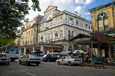 Downtown Yangon, Burma