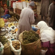 Man selling Dry Vegetables on roadside at Hazratbal