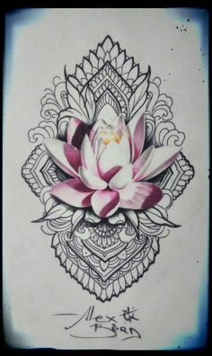 Image result for tropical mandala tattoo