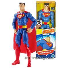"DC COMICS JUSTTICE LEAGUE MAN OF STEEL SUPERMAN WITH BASE 4-1//2/"" FIGURE 2013"