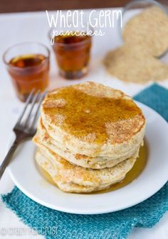 I fed them that wheat germ stuff because that's what they love! -bedtime stories, Adam sander …what I think of every time I see 'wheat germ'…haha :) Ingredient Paleo Pancakes) Pancakes Easy, Pancakes And Waffles, Paleo Pancakes, Eat Breakfast, Breakfast Recipes, Wheat Germ, Vegan Baking, Healthy Baking, Quick And Easy Breakfast