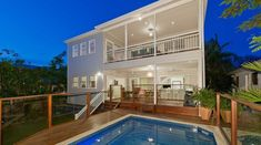 In this article of Housance, we're going to share 10 house tricks that will make your home look more beautiful, and at the same time it looks more valuable. Swimming Pool Designs, Swimming Pools, Home Remodeling Contractors, Building A Pool, Home Hacks, Home Builders, Home Renovation, Cool Kitchens, Decks
