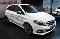 Salon Del Automovil De Paris -- Autoblog Español  MERCEDES  B ELECTRIC DRIVE