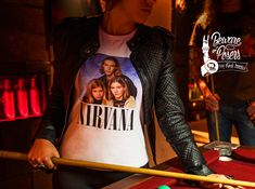 98FM: Nirvana Beware of posers. 98FM. For rock lovers.