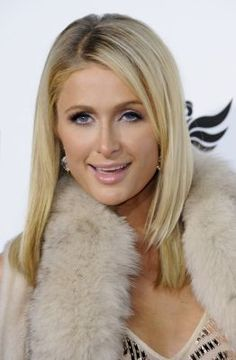 Paris Hilton attends Will.Am's Annual Concert Benefitting I.Angel Foundation - Red Carpet on February 2013 in Hollywood, California. Fur Clothing, In Hollywood, Hollywood California, Image Types, Paris Hilton, Famous Celebrities, Indian Actresses, Creative Design, Fashion Art