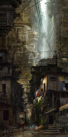 Urban Sprawl   By Richard Tilbury
