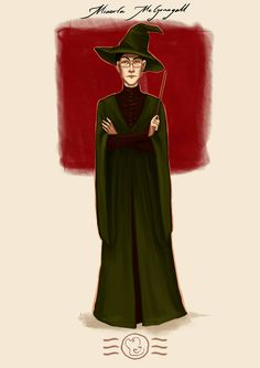 Order of the Phoenix - Minerva McGonagall by aidinera.deviantart.com on @DeviantArt