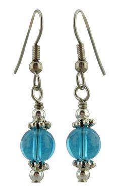 Aqua Drop Earrings