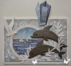Tineke's kaartenhoekje: Een dolfijne verjaardag