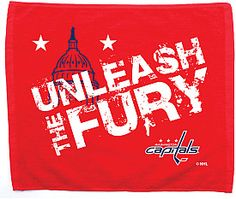 Washington Capitals - Extra Man Rally Towel created exclusively for www.shop.nhl.com