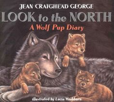 Look to the North: A Wolf Pup Diary by Jean Craighead George $6.99 http://smile.amazon.com/dp/0064435105/ref=cm_sw_r_pi_dp_XKSEub1VTPGYJ