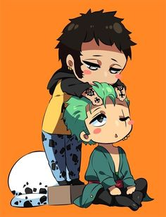 Roronoa Zoro x Trafalgar Law #one piece