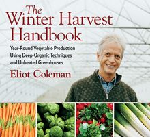 Year-round vegetable production using deep-organic techniques and unheated greenhouses. This book focuses on growing produce of unparalleled freshness and quality in customized unheated or, in some cases, minimally heated, movable plastic greenhouses. - See more at: http://www.chelseagreen.com/bookstore/item/the_winter_harvest_handbook:paperback#sthash.tu9qHE3h.dpuf