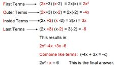 Image result for high school  algebra 2 formulas