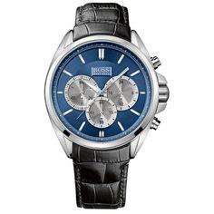 912cc4e81b8 BOSS HUGO BOSS Stainless Steel Driver Watch Hugo Boss Watches
