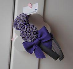 El Tulipán Azul : Diademas, coleteros y tocados: ESPECIAL COLEGIOS