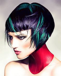 Explosive Color & the Spectrum Collection by Robert Masiave - News - Modern Salon Funky Hair Colors, Chopstick Hair, Avant Garde Hair, Editorial Hair, Beauty Editorial, Hair Reference, Creative Colour, Hair Affair, Hair Restoration