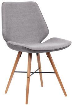 Esszimmerstühle ähnlich Eames Chair mit Stoffbezug 2 Stück 450€