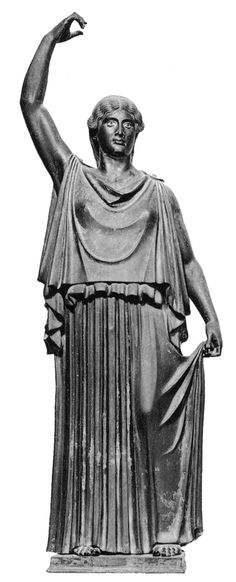 Greek (Classical): Doric Chiton. Worn by men from 400BC to 100BC, and women from 450BC to 300BC. It is narrower than the Ionic, without sleeves, fastened with one brooch at shoulders.