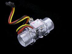 Check out http://arduinohq.com  Buy G1/2 Water Flow Sensor Enclosure [101990055] | Seeedstudio
