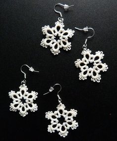 Tatted snowflakes no1 by nikkichou on deviantART