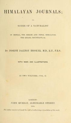 Himalayan journals