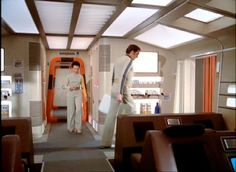Interior set of Eagle Transporter from Space: 1999.