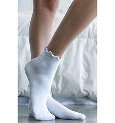 La Hearts Womens Ruffled Ankle Socks -- For more information, visit image link.