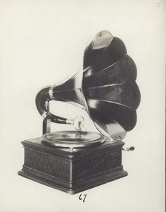 A phonograph.