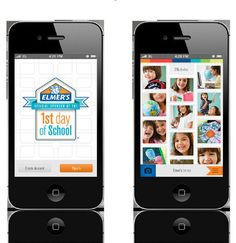 Download the Elmer's 1st Day app through the iTunes Store or Google Play.