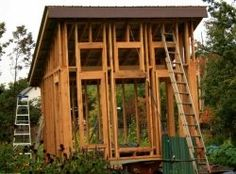 images about Building or Sheds to Make on Pinterest