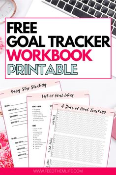 Home Management Binder, Time Management, Classroom Management, Goal Tracking, Goal Charts, Printable Planner, Printables, Goals Printable, Planner Organization