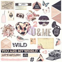 992347 - Wild and Free Chipboard and More