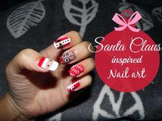 Nail Art Tutorial 20: 5 ideias de nail art para o Natal