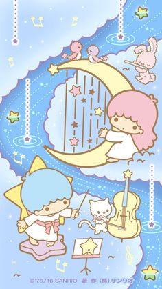 67 ideas wall paper cartoon kawaii little twin stars My Melody Wallpaper, Sanrio Wallpaper, Star Wallpaper, Cute Disney Wallpaper, Kawaii Wallpaper, Cute Cartoon Wallpapers, Little Twin Stars, Hello Kitty Imagenes, Character Wallpaper