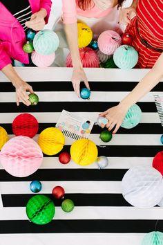 Modern Holiday Crafting Party #TisTheSeason