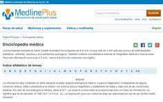 Acceso gratuito. Enciclopedia Ilustrada de Salud de A.D.A.M., Medline Plus Spanish, Medicine, Clove Oil, Health, Spanish Language, Spain