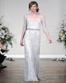 Jenny Packham simple wedding dress