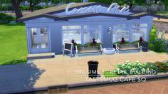 The Sims 4 - Retail Building - TastsMug Cafe SQ