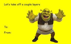 shrek valentine card tumblr