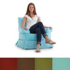BeanSack Big Joe Babette Outdoor/ Indoor Bean Filled Arm Chair - Overstock Shopping - Great Deals on Bean & Lounge Bags