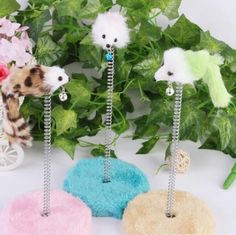 Cat Spring Mouse Round Grab Board