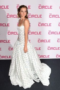 Emma Watson Wears Miu Miu at Paris Premiere of The Circle | British Vogue
