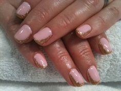 Sweet with a twist - pink & gold by Karen @ValleyNYC