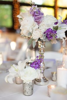 Romantic & Elegant Lavender Wedding