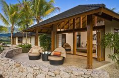**ACTUALY I ALSO LIKE THIS ONE**Tropical home