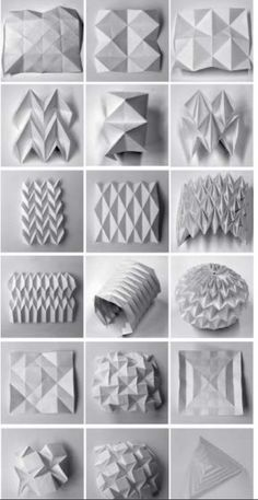 Best 12 Check out the link for more Origami Projects – SkillOfKing. Architecture Pliage, Architecture Origami, Paper Crafts Origami, Origami Art, Origami Rose, Design Origami, Paper Structure, Origami Tutorial, Geometric Art