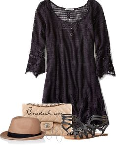 Lace dress polyvore casual outfits